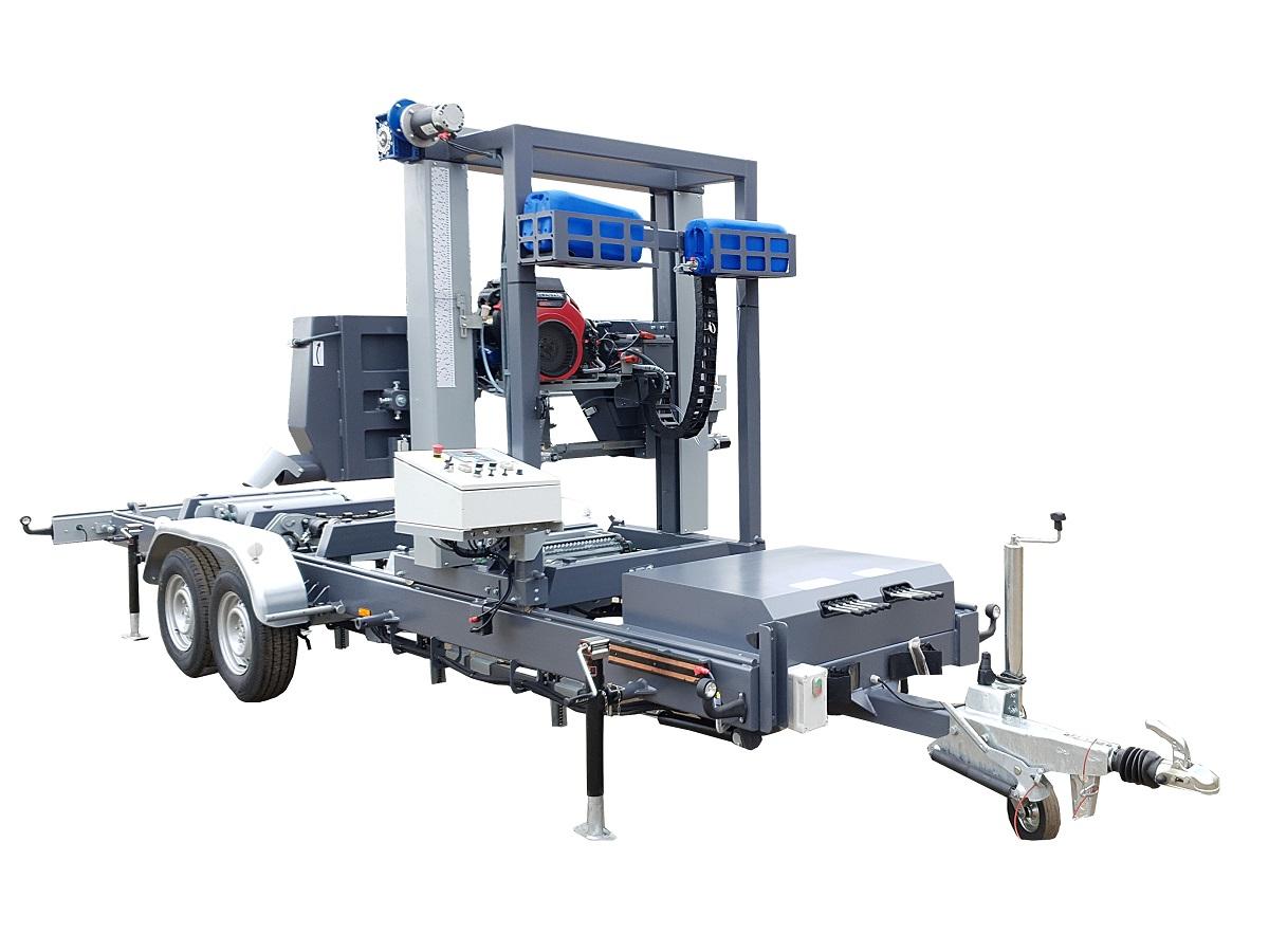 Trak taśmowy TTP-600 Premium mobilny z hydraulkiką silnik spalinowy benzynowy 27 KM (1)